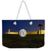 Having A Ball At The Fort Weekender Tote Bag