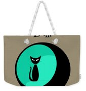 Having A Ball In Aqua Weekender Tote Bag