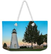 Concord Point Light ... Havre De Grace Md Weekender Tote Bag
