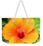 Hawaii Orange Hibiscus Weekender Tote Bag