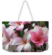 Hawaii Plumeria Weekender Tote Bag