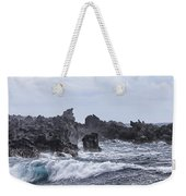 Hawaii Waves V1 Weekender Tote Bag