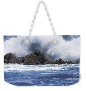 Hawaii Waves V3 Weekender Tote Bag