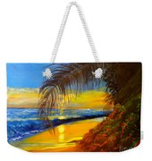 Hawaiian Coastal Sunset Weekender Tote Bag
