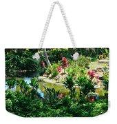 Hawaiian Cultural Garden Honolulu Airport Weekender Tote Bag