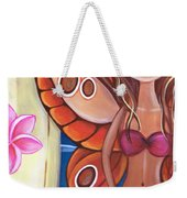 Hawaiian Fairy Weekender Tote Bag