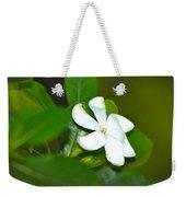 Hawaiian Gardenia Weekender Tote Bag