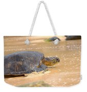 Hawaiian Green Sea Turtle 2 Weekender Tote Bag