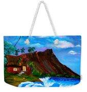 Hawaiian Homestead At Diamond Head Weekender Tote Bag