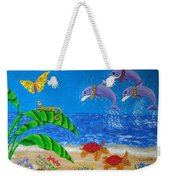 Hawaiian Lei Day Weekender Tote Bag