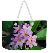 Hawaiian Lei Flower Weekender Tote Bag