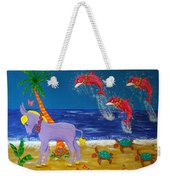Hawaiian Lei Parade Weekender Tote Bag