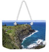 Hawaiian Lighthouse Weekender Tote Bag