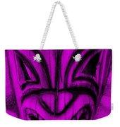 Hawaiian Purple Mask Weekender Tote Bag
