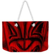 Hawaiian Red Mask Weekender Tote Bag