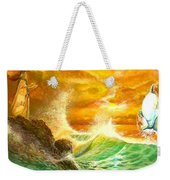 Hawaiian Spirit Seascape Weekender Tote Bag