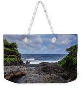 Hawaiian Surf Weekender Tote Bag