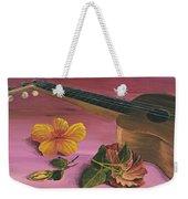 Hawaiian Ukulele Weekender Tote Bag by Darice Machel McGuire