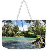 Hawaiian Landscape Weekender Tote Bag