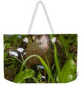 Hawk In The Grass Weekender Tote Bag