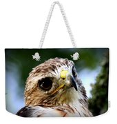 Hawk - Raptor - Living The Good Life Weekender Tote Bag