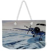 Hawker - Airplane On Ice Weekender Tote Bag