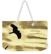 Hawks - At - Sunset Weekender Tote Bag