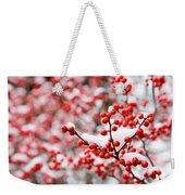 Hawthorn Berries Weekender Tote Bag
