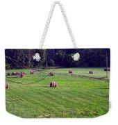 Hay Field Weekender Tote Bag