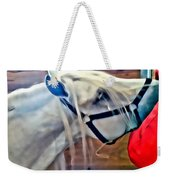 Hay For The White Horse Weekender Tote Bag