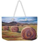 Hay Harvest Weekender Tote Bag