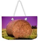 Hay Roll Weekender Tote Bag