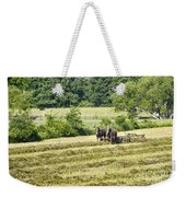 Hay Season Weekender Tote Bag