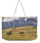 Hay There Weekender Tote Bag by Juli Scalzi