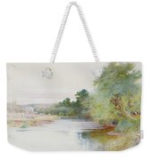 Haymaking Near Marlow Weekender Tote Bag