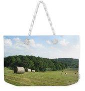 Haymaking Season Weekender Tote Bag