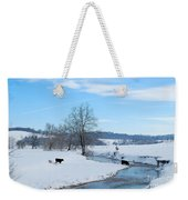 Hays Creek Winter Weekender Tote Bag