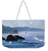 Haystack Rocks In Cannon Beach Weekender Tote Bag