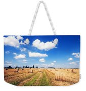 Haystacks In The Field Weekender Tote Bag