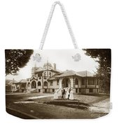 Hazel Hawkins Hospital Monterey Street Hollister California Circa 1907 Weekender Tote Bag