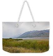 Hazy Day - Grand Teton National Park - Wyoming Weekender Tote Bag