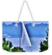 Hazy Day Sail Weekender Tote Bag