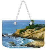 Hazy Laguna Morning Weekender Tote Bag