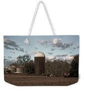 Hdr Image The Farmers Silo Weekender Tote Bag