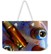 Bullet Art - Hdr Photography Of .32 Caliber Hollow Point Bullets Art 4 Weekender Tote Bag