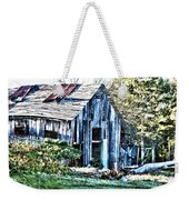 Hdr Tin Patch Roof Barn Weekender Tote Bag
