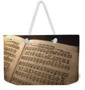 He Set Me Free - Hymnal Song Weekender Tote Bag
