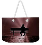 He Spoke Light Into The Darkness Weekender Tote Bag
