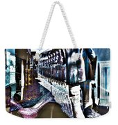 He Staggered Through The Streets Trying To Find His High Heel Boots Weekender Tote Bag