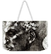 Head Of A Satyr  Weekender Tote Bag
